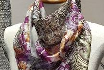 SILK SCARFS / silk scarves that we love for Ateljee