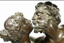 Sculpture / Bronze figures,Marble figures