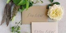 Inviti di nozze / Un percorso affascinante che scopre l'universo del wedding attraverso un laboratorio di fioristi, un'agenzia di servizi e un'organizzazione di eventi.