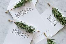 Décoration tables / Idée de décoration de table pour occasion spécial.