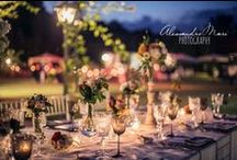 Centrotavola / Un percorso affascinante che scopre l'universo del wedding attraverso un laboratorio di fioristi, un'agenzia di servizi e un'organizzazione di eventi.