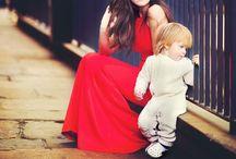 Fashion Motherhood / http://allmumstalk.com  #motherhood #toddler #reddress #fashion