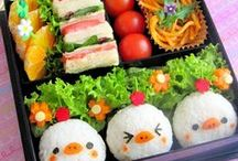 Bento Boxes Galore / A board with the most KAWAII bentos and creations. From Baymax Burgers to Sushi Chicks, this board has the most cute and culinary delights you'll ever meet.