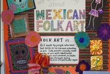 Spanish: Culture & Craft Treasures / for Spanish class: food/art/song/video/countries/crafts and more.... / by Sheila Carter