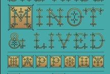 Tipografías / Typography / Todo lo relacionado con el mundo de la tipografía