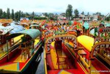 Xochimilco, México  / All photos found on www.bayessence.com