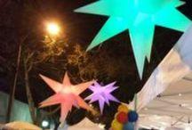 Noche de Colores  / Danza, música, espectáculos callejeros, exposiciones de fotografía y pintura, antigüedades, vinilos y feria de emprendedores se tomaron el Barrio Italia de Providencia