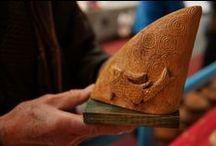 Marché de Noël, Ormes (45) / Un premier marché de Noël riche en émotions... petits et grands ont trouvé leur bonheur... / by Didier MAURIO - Sculpteur AVEC le Bois