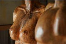 BUSTES / by Didier MAURIO - Sculpteur AVEC le Bois