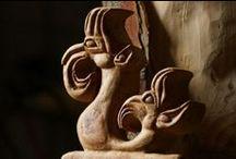 Figurines de l'ALTAÏ / Richesse et diversité de la culture russe...1.2 / by Didier MAURIO - Sculpteur AVEC le Bois