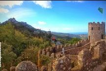 Sintra, Portugal / Castle of the Moors and Pena National Palace