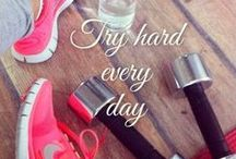 BE FIT AND GET STARTED TODAY! / Yes, I have two pages and does not observe everything I wanted, but at least a little exercise might help you, too!