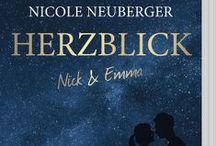 Herzblick / Emma ist unsichtbar, bis zu dem Tag, an dem sie Nick trifft. Nick ist ein erfolgreicher Anwalt, bis er Opfer einer Intrige wird. Ihre Begegnung ist zufällig und dennoch werden sie unentbehrlich füreinander. Nick nutzt Emmas außergewöhnlichen Zustand, um seine Karriere zu retten, und wird für sie zur Hoffnung auf ein normales Leben. Die wachsende Anziehung zwischen ihnen ignorieren sie, bis das leise Flattern in Emmas Inneren laut wird und sie versehentlich Nicks Geheimnis aufdeckt.