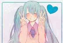 Miku / Hatsune Mikuğ >.< Leydi-chan!