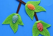 Unconventional Kids Art / free & unconventional art expression