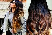 Ombre Color / Color that transitions from dark to light or light to dark on the hair.