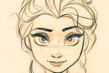 Hair Sketch / Hair