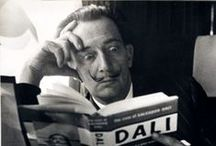 Salvador Dali (1904 - 1989) / Salvador Domingo Felipe Jacinto Dalí  (May 11, 1904 – January 23, 1989), known as Salvador Dalí,  was a prominent Spanish surrealist painter born in Figueres, Catalonia, Spain.He was a skilled draftsman, best known for the striking and bizarre images in his surrealist work. His best-known work, The Persistence of Memory, was completed in August 1931. Dalí's expansive artistic repertoire included film, sculpture, and photography, in collaboration with a range of artists in a variety of media / by Gayle Mrabet