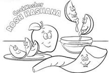 Jewish Holidays: Rosh Hashanah / Crafts, recipes, and coloring pages to celebrate the Jewish New Year!