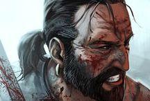Games / I'm no big gamer but I do enjoy a quality weekend spent with Dragon Age <3