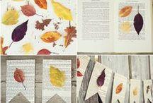 Autumn leaves decor