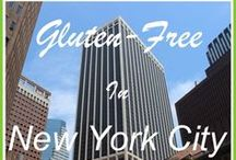 Guten Free ❤ New York City / Check out these wonderful gluten-free restaurants and bakeries when you travel to New York City!