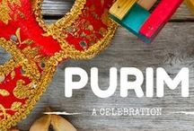 Jewish Holidays: Purim / Recipes, crafts, activities and costumes to celebrate the holiday of Purim!