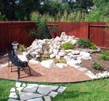 Our Outdoor Living & Landscaping Division / The Garden Center offers the whole nine yards when it comes to landscaping. These are just some of the things they can do!