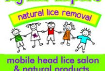 Natural Head Lice products / Our chemical-free products kill head lice and loosen the nits.