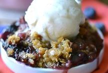 Cobblers, Crisps, Crumbles & Buckles / Add a scoop of ice cream and enjoy!