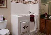 Walk-in Tubs / Full line of Best Bath walk-in tubs - all with heated seats! High quality construction, 30-year warranties, easy installation and models to suit any decor and mobility!