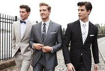 WED. GROOM. / groom's style. groomsmen. boutonnieres.  / by Melissa