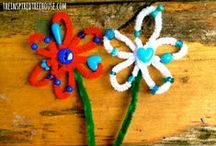 Holidays & Seasons - Spring Time Fun / An amazing collection of seasonal crafts and art projects, learning and moving ideas to have an awesome Spring with kids!