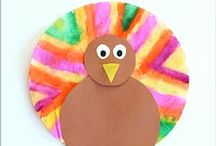 Holidays & Seasons - Thanksgiving / Fun Thanksgiving activities for kids that promote developmental skills.  Fine motor activities, gross motor activities, sensory activities and more!