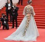 Celebrity Skin / Atuendos de pasarela en la alfombra roja / Runway looks at the Red Carpet