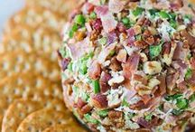 Cheese Balls & Logs / Every party or special occasion should have a cheese ball