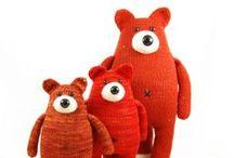 Cotton/wool/tartan toys / toys