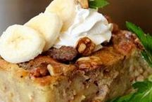 Bread Pudding Ponderings / Collection of comforting, family pleasing, bread pudding recipes!