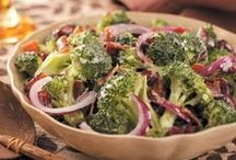 Broccoli Florets / Recipes using fresh or frozen broccoli