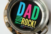 Holidays & Seasons - Father's Day / Creative art and craft ideas for Father's Day including gifts and activities to make dad smile!