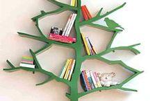 Bookshelf / Bookshelves, bookcase, boekenkast
