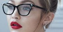 Eyewear - Optical frames / To us, eyewear goes way beyond being a prescription. It's like makeup. It's the most incredible accessory. The shape of a frame or the color of lenses can change your whole appearance.