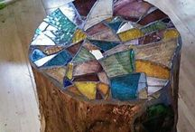 Mosaic love / Inspiration and ideas for garden mosaics for our earthship in Spain