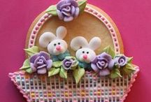 Decorated Cookies ~ Easter