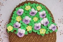 Decorated Cookies ~ Flowers