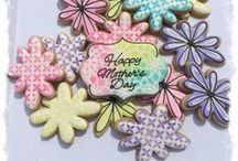 Decorated Cookies ~ Mother's Day