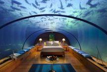 The Most Amazing Hotels in the World / The Most Amazing Hotels in the World. An UNIQUE location for your vacation. -- Cele mai impresionante hoteluri din lume. O locație inedită pentru vacanța ta.  www.haisitu.ro #haisitu #AmazingHotel