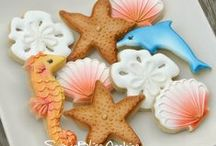 Decorated Cookies ~ Beach, Ocean, Nautical, Pirates