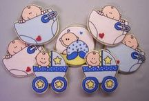 Decorated Cookies ~ Baby