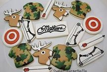 Decorated Cookies ~ Hunting & Fishing